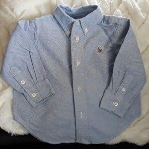 Ralph Lauren polo shirts size 12 months